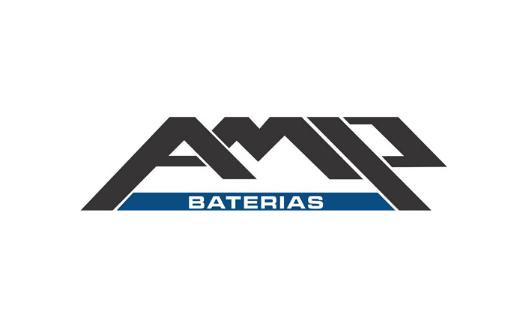 AMP BATERIAS logo