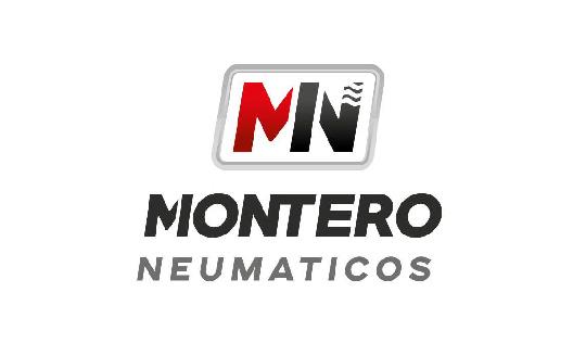MONTERO NEUMATICOS - Logo