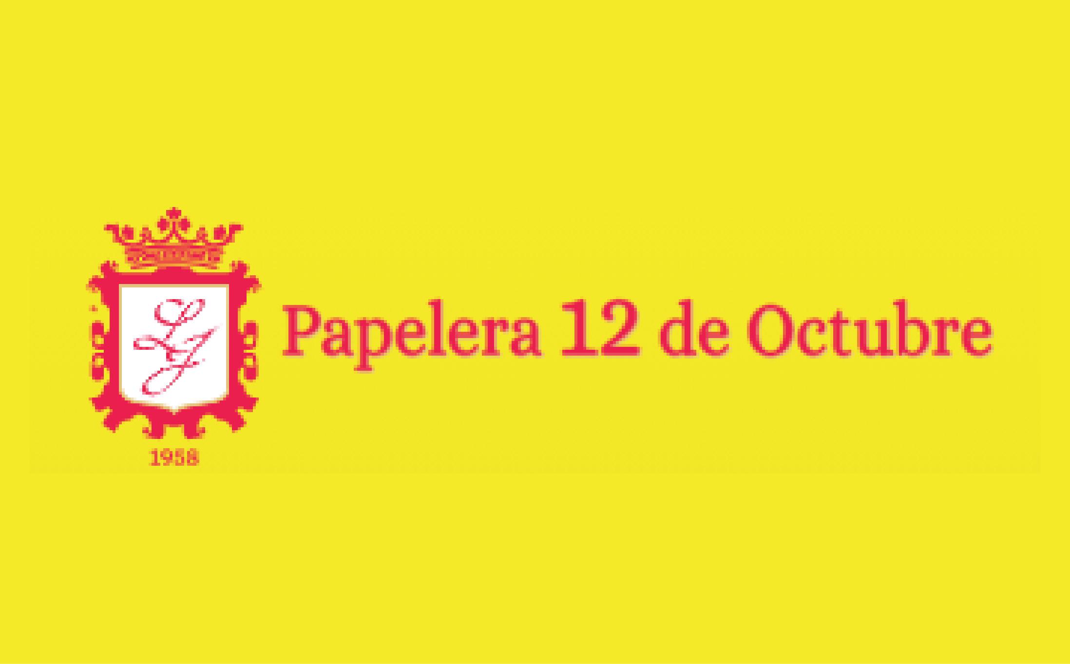 Papelera 12 de Octubre - Logo