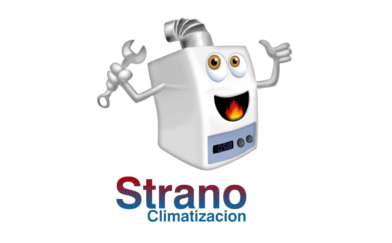 Strano Climatización - Logo