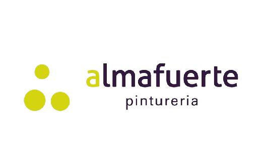 Almafuerte Pinturerías - Logo